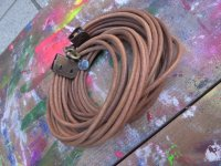 GARA ROPING BANGLE BROWN