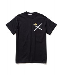 F-LAGSTUF-F  Don't Come-03 TEE BLACK