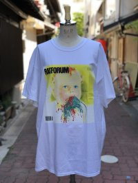LAB RAT ×peterpaquin RATFORUM Tee white