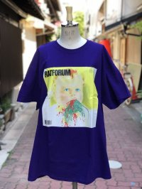 LAB RAT ×peterpaquin RATFORUM Tee purple