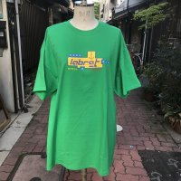 LAB RAT drop logo Tee GREEN