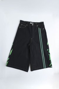 boys in the band別注 TENDER PERSON FLAME PATTERN  SHORTS BLACK