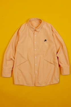 画像1: Alexander Lee Chang   SEO-L OX SHIRT ORANGE