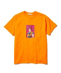 "F-LAGSTUF-F × DRAGON BALL  ""GOKU"" Tee ORANGE"