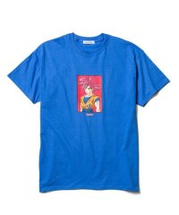 "F-LAGSTUF-F × DRAGON BALL  ""GOKU"" Tee BLUE"