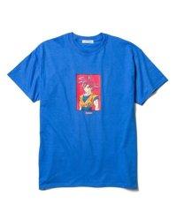 "F-LAGSTUF-F × DRAGON BALL  ""GOKU"" Tee BLUE"