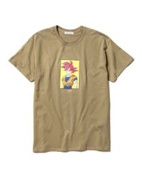 "F-LAGSTUF-F × DRAGON BALL  ""GOKU"" Tee PD(GREEN)"