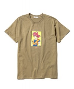 "画像1: F-LAGSTUF-F × DRAGON BALL  ""GOKU"" Tee PD(GREEN)"