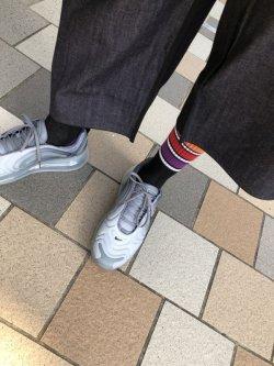 画像2: 国士文通省 × GanaG Socks コンビニラインソックス ◯K