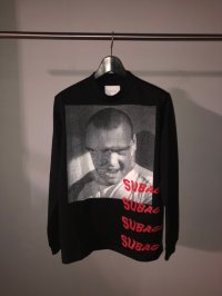 SUB-AGE. MOCK NECK L/S T-SHIRT 3 BLACK