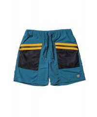 F-LAGSTUF-F  SWIM SHORTS BLUE×YELLOW