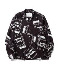 F-LAGSTUF-F ×Sonic Youth L/S SHIRTS BLACK