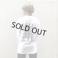TENKI×A MAN×boys in the band  10key Collabration L/S Tee WHITE
