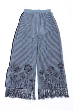 画像2:  rurumu: 20AW sacredness flower knit PT mint