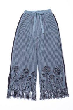 画像1:  rurumu: 20AW sacredness flower knit PT mint
