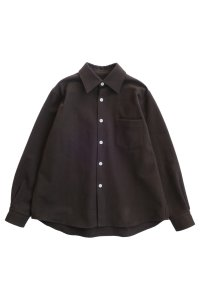 AVALONE 20AW-PNS HEAVY BRUSHING SHIRT BROWN