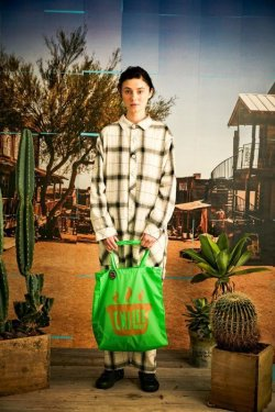 画像4: Alexander Lee Chang CHILEE TOTE NEONGREEN