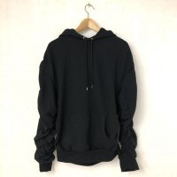 AVALONE GATHER SPACE HOODIE BLACK