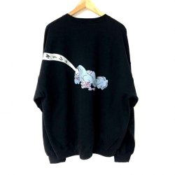 "画像2: DeliveryHells ""Rokuro""SWEAT BLACK"