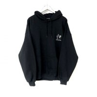 "DeliveryHells ""Vital point""HOODIE BLACK"