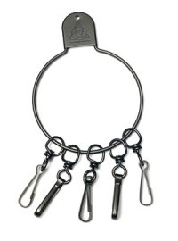 GARA  LOOP KEY BLACK