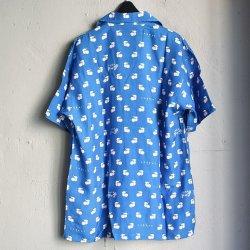 画像2: LABRAT×不純喫茶DOPE Hawaiian Shirt BLUE