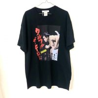 "LABRAT×千代の富士 ""wolf the hero"" tee black"