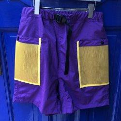 画像1: F-LAGSTUF-F SWIM SHORTS purple