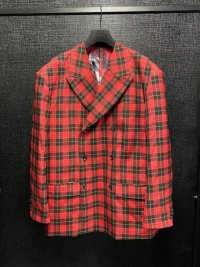 TENDER PERSON DOUBLE BLAZER RED