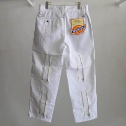 画像2: KIDILL 21-22A/W ×Dickes Bontade Pants white