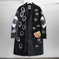 KIDILL 21-22A/W ×Dickes Chester Coat black