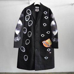 画像1: KIDILL 21-22A/W ×Dickes Chester Coat black