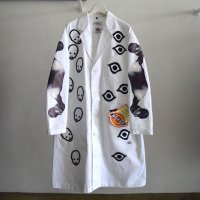 KIDILL 21-22A/W ×Dickes Chester Coat white