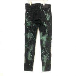 画像2: KIDILL×EDWIN Patch Slim Tarperd Pants BLACK×GREEN