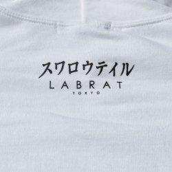 """画像4: LABRAT×Swallowtail """"Gulico""""Hoodie White"""